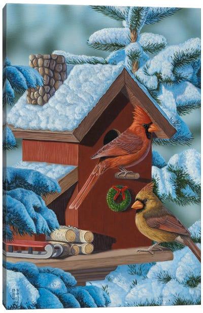 Christmas Cards Canvas Art Print