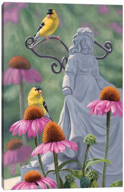Garden Angels Canvas Art Print