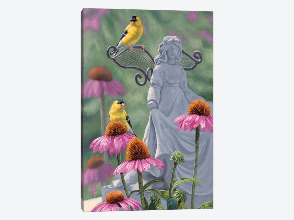 Garden Angels by Jeffrey Hoff 1-piece Canvas Art