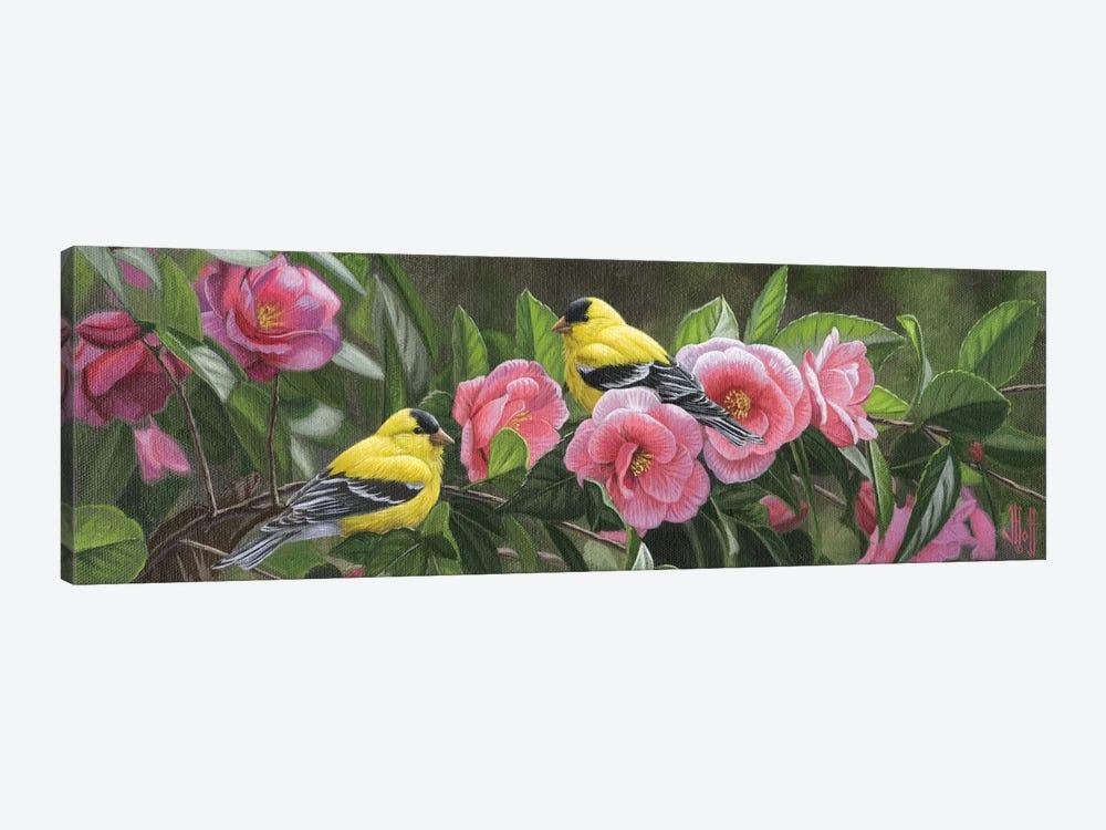 Garden Gems by Jeffrey Hoff 1-piece Canvas Art Print