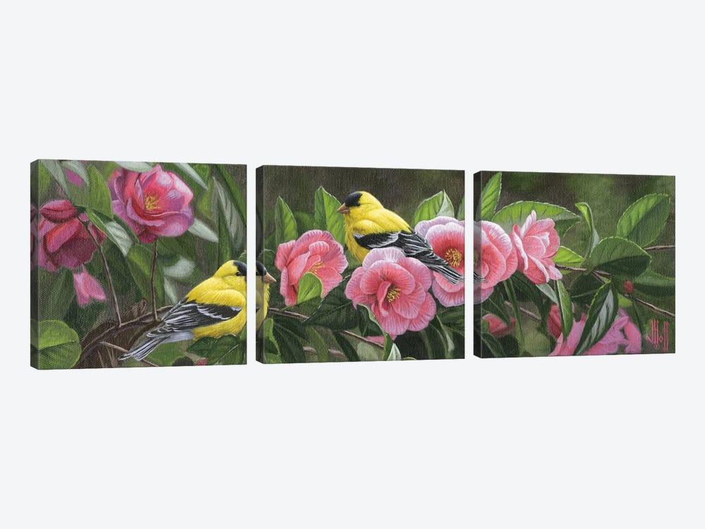 Garden Gems by Jeffrey Hoff 3-piece Art Print