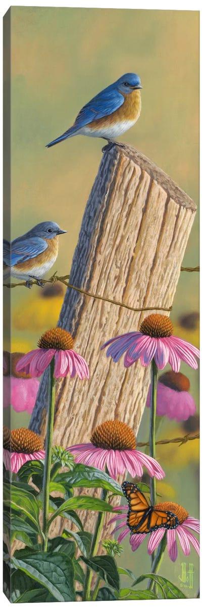 Monarchs Of The Prairie Canvas Art Print