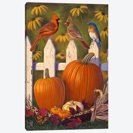 Autumn Harvest Canvas Print #JHO2} by Jeffrey Hoff Canvas Artwork