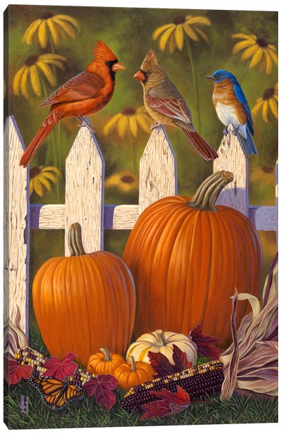 Autumn Harvest Canvas Art Print