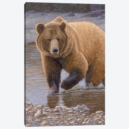 River Patrol Canvas Print #JHO38} by Jeffrey Hoff Canvas Art Print