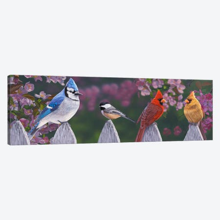 Springtime Line-Up Canvas Print #JHO46} by Jeffrey Hoff Art Print