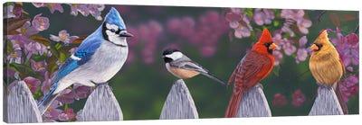 Springtime Line-Up Canvas Art Print