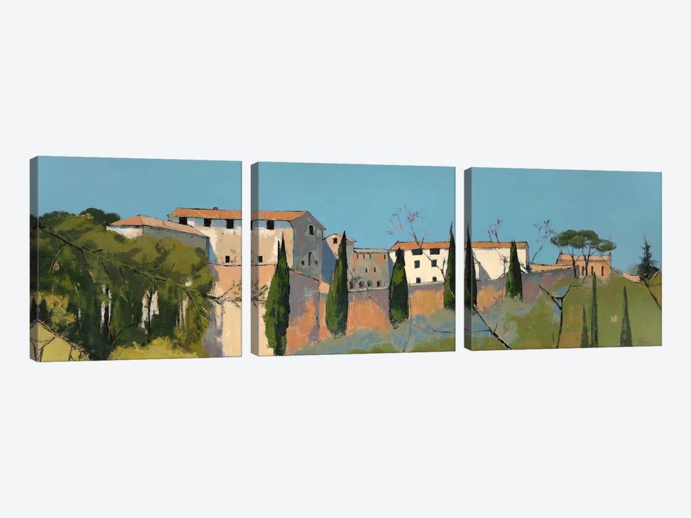 Monastero di San Girolamo by Jane Henry Parsons 3-piece Canvas Art Print