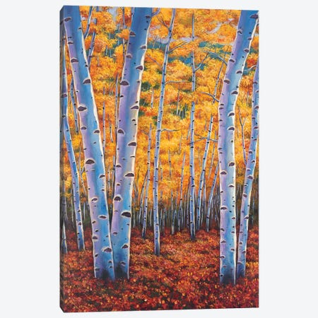 Autumns Dreams Canvas Print #JHR11} by Johnathan Harris Canvas Art