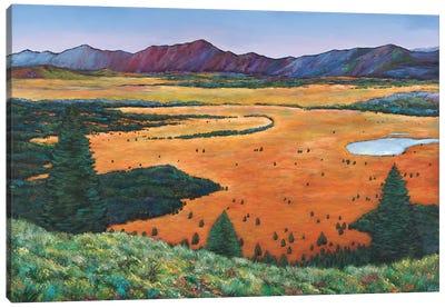Chasing Heaven Final Canvas Art Print