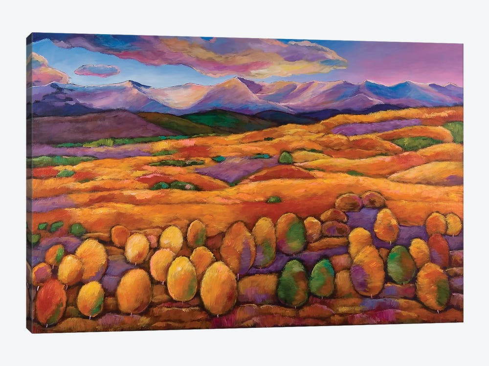 Contentment by Johnathan Harris 1-piece Canvas Print
