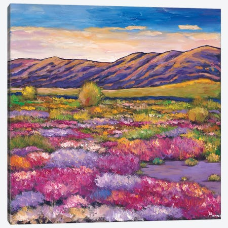 Desert Bloom Canvas Print #JHR21} by Johnathan Harris Canvas Print