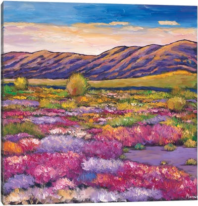 Desert Bloom Canvas Art Print
