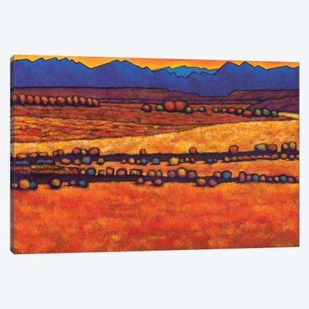 Desert Harmony 3-Piece Canvas #JHR24} by Johnathan Harris Canvas Art
