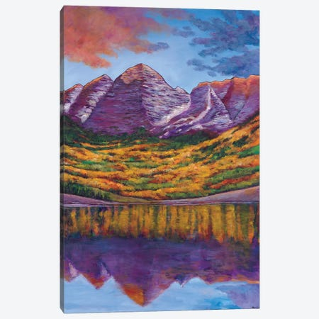Fall Symphony Canvas Print #JHR30} by Johnathan Harris Canvas Art