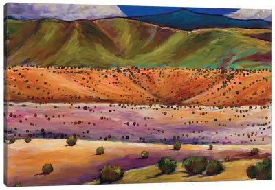 Foothill Approach Canvas Art Print