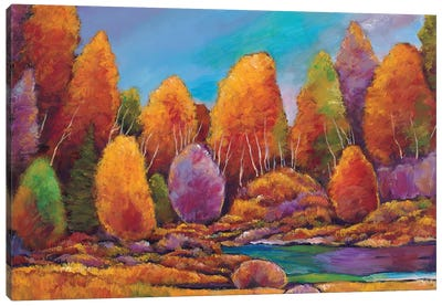 A Moments Embrace Canvas Art Print