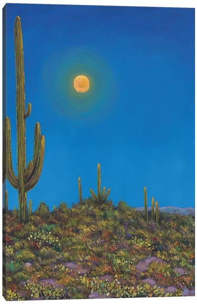 Moonlight Serenade Canvas Art Print