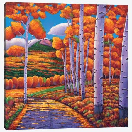 October Enclave Canvas Print #JHR44} by Johnathan Harris Canvas Artwork