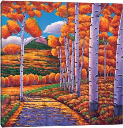 October Enclave Canvas Art Print