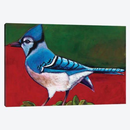 Old Blue Canvas Print #JHR45} by Johnathan Harris Canvas Wall Art