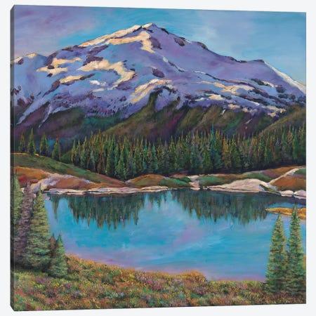 Reflections Land Canvas Print #JHR49} by Johnathan Harris Canvas Print