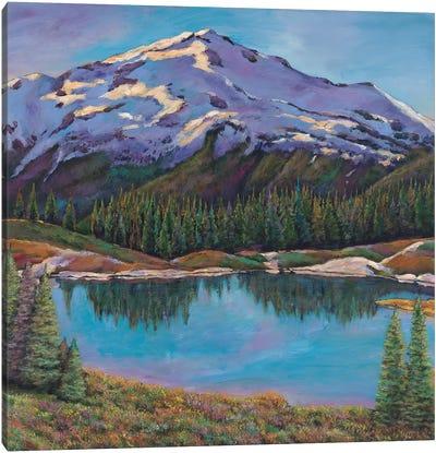 Reflections Land Canvas Art Print
