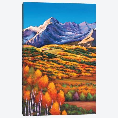 Rocky Mountain High Canvas Print #JHR52} by Johnathan Harris Canvas Wall Art