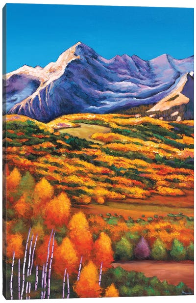 Rocky Mountain High Canvas Art Print