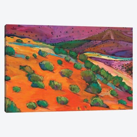Sage Slopes Canvas Print #JHR53} by Johnathan Harris Canvas Wall Art