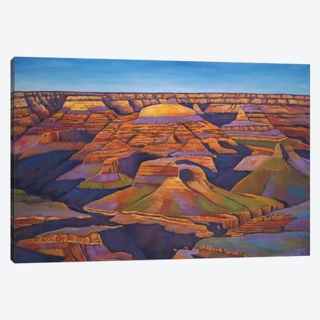 Shadows And Breezes Canvas Print #JHR57} by Johnathan Harris Art Print