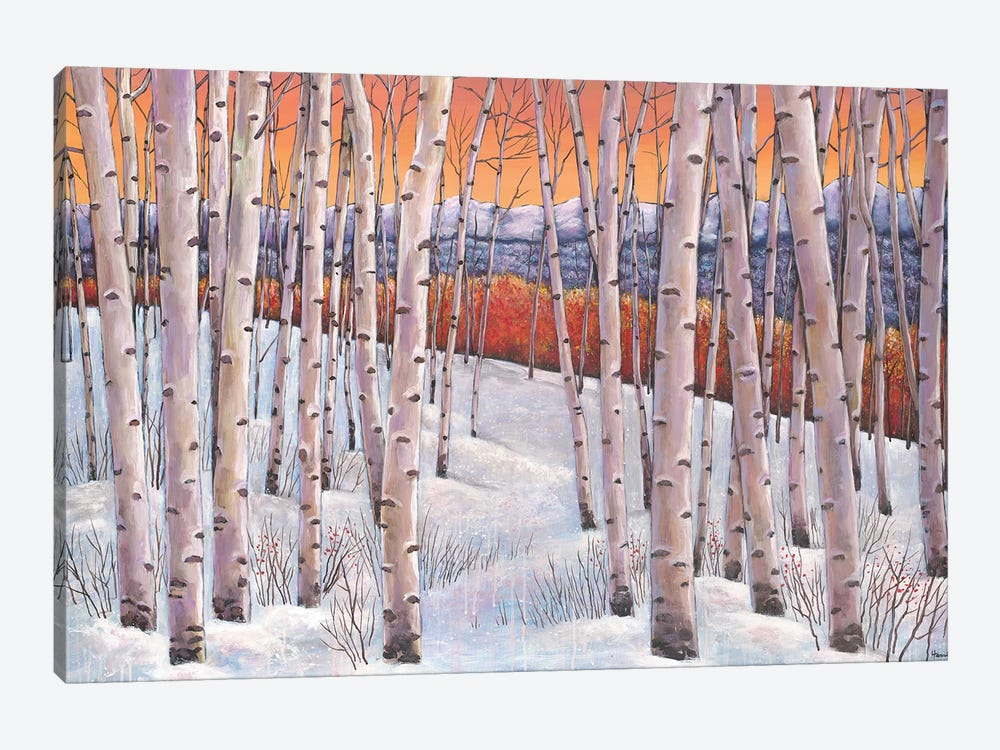 Winters Dream by Johnathan Harris 1-piece Canvas Wall Art