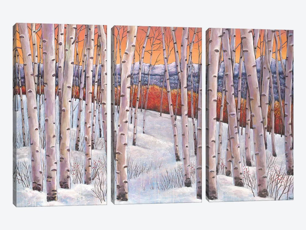 Winters Dream by Johnathan Harris 3-piece Canvas Artwork