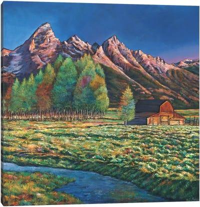 Wyoming Canvas Art Print