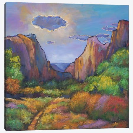 Zion Dreams Canvas Print #JHR69} by Johnathan Harris Canvas Art Print