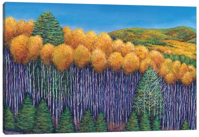 Aspen Slopes Canvas Art Print