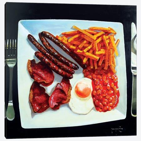 All Day Breakfast Canvas Print #JHS106} by John Haskins Canvas Art Print