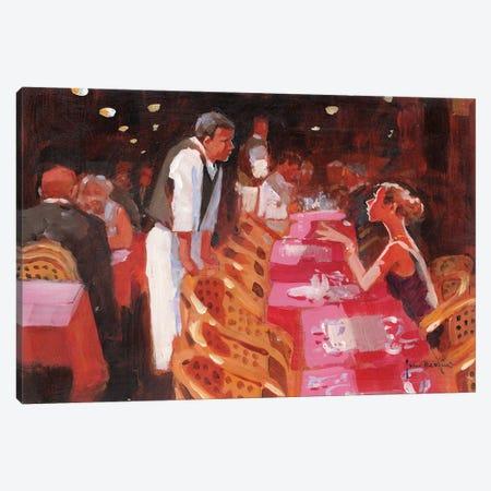Cappucino, Per Favore Canvas Print #JHS12} by John Haskins Art Print