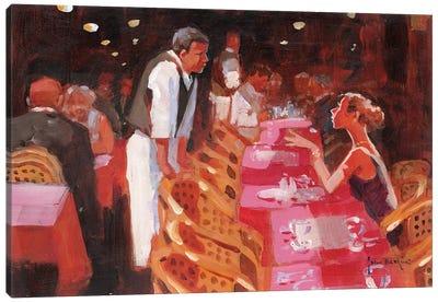 Cappucino, Per Favore Canvas Art Print