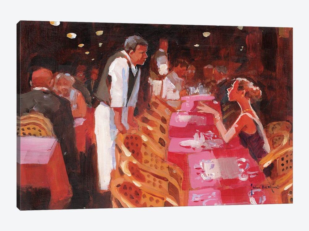 Cappucino, Per Favore by John Haskins 1-piece Canvas Artwork