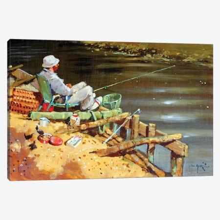 Chance Of A Bite Canvas Print #JHS13} by John Haskins Canvas Art Print