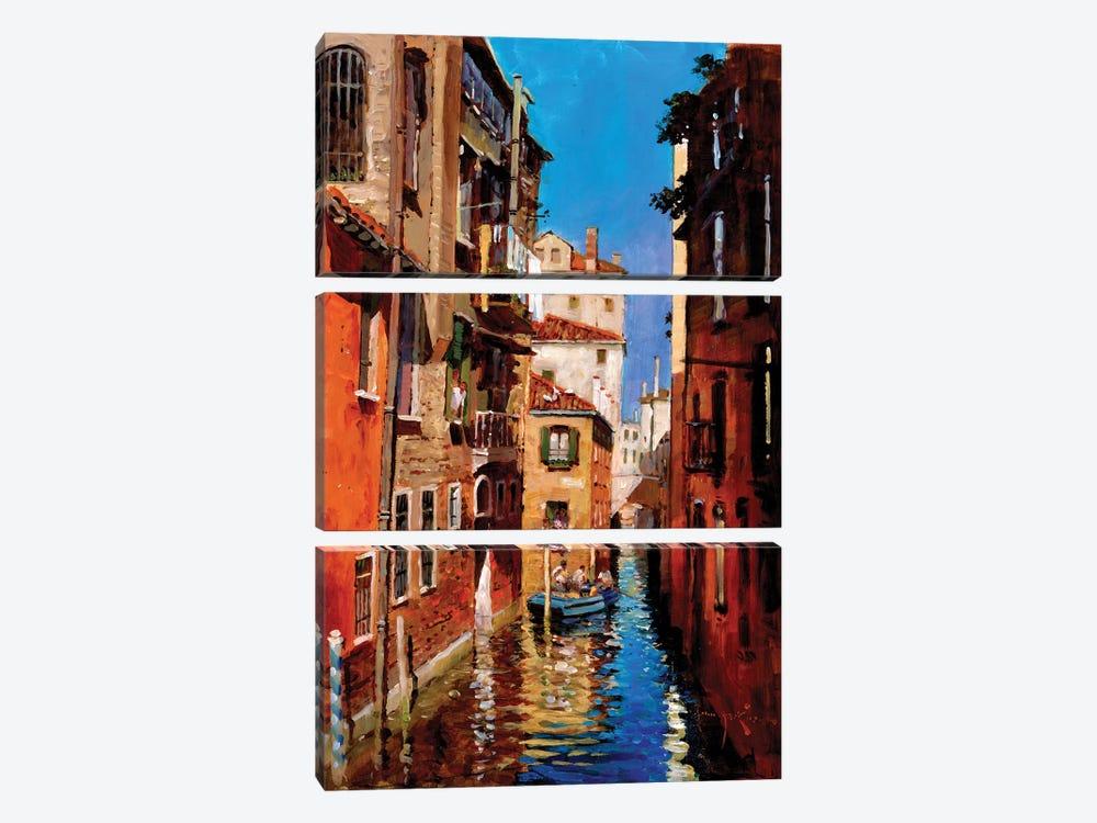 Dorsoduro by John Haskins 3-piece Canvas Art