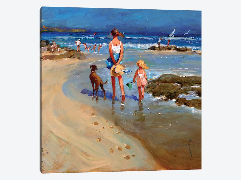 Edge Of The Tide by John Haskins 1-piece Art Print