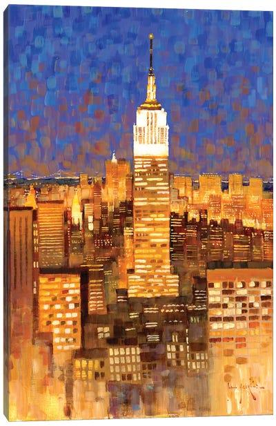 Empire State Building Skyline Canvas Art Print