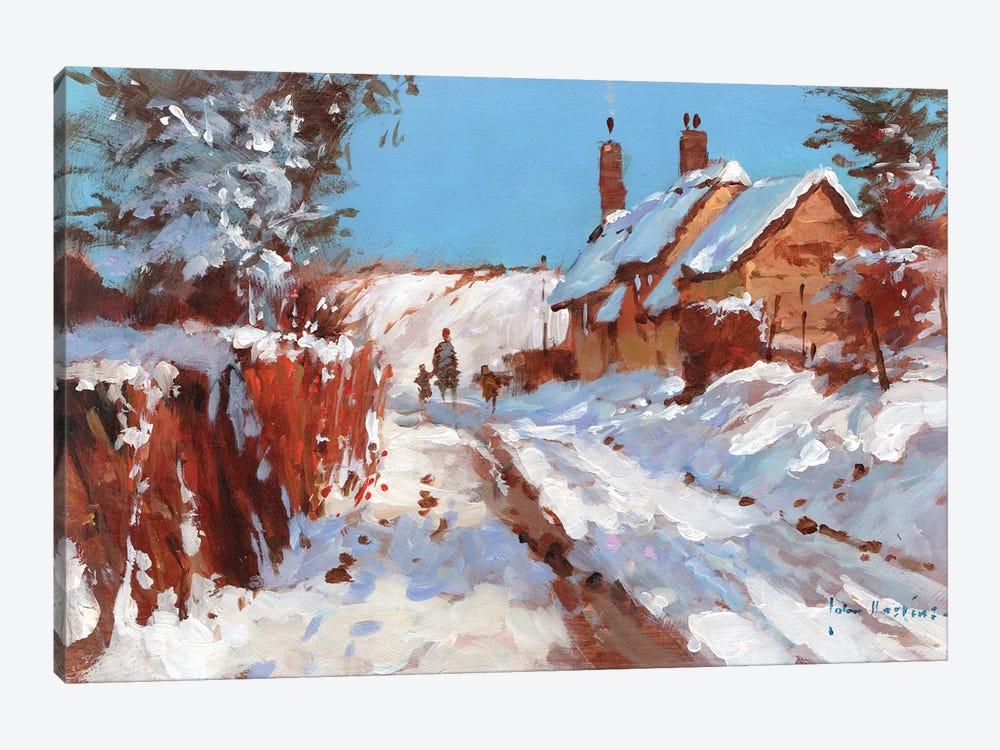 First Fall by John Haskins 1-piece Canvas Wall Art