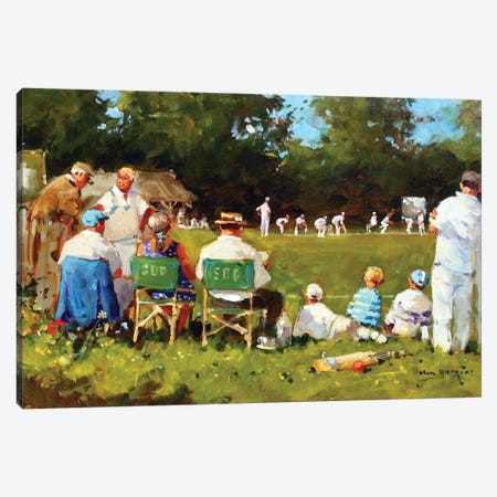 From The Boundary Canvas Print #JHS22} by John Haskins Canvas Art