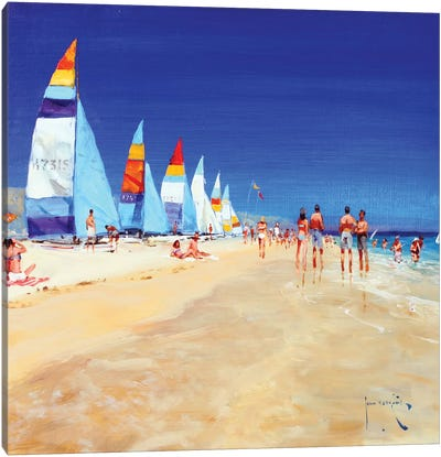 High And Dry Canvas Art Print