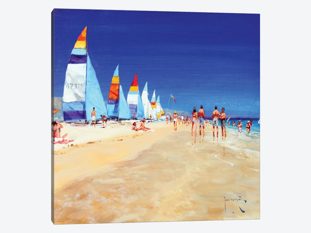 High And Dry by John Haskins 1-piece Canvas Wall Art