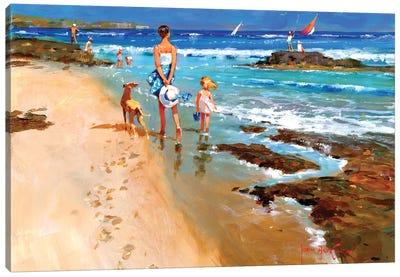 In On The Tide II Canvas Art Print