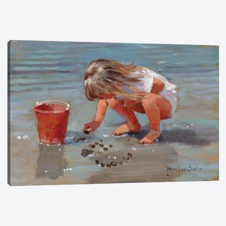 Leaving My Name Canvas Print #JHS30} by John Haskins Canvas Art Print